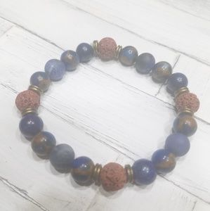 Jewelry - Custom made essential oil diffuser bracelet D